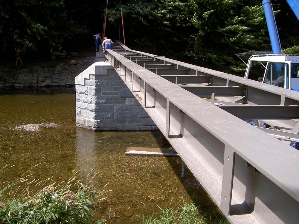Sanierung Luftbrücke im Greizer Park