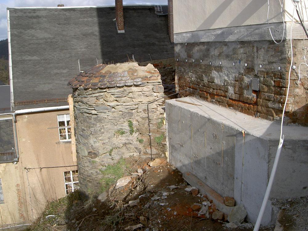 Sanierung Schlossturm Oberes Schloss in Greiz