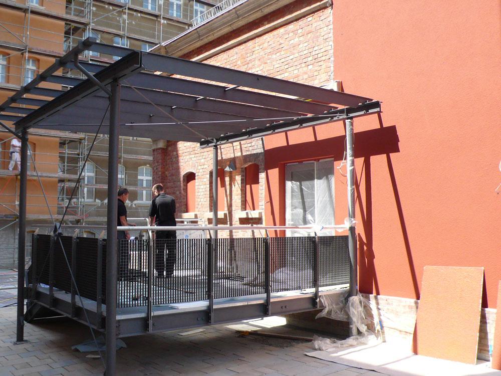 Sanierung Gymnasium Greiz Umbau Turnhalle zur Aula