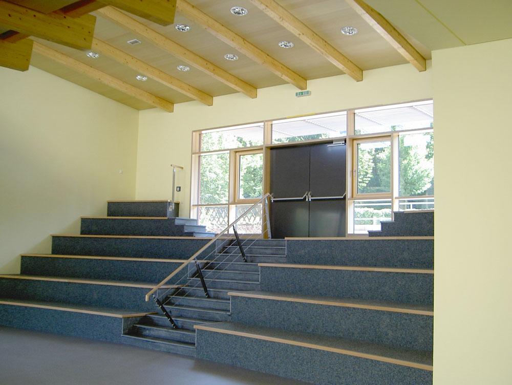 Anbau Aula, Osterlandgymnasium Gera