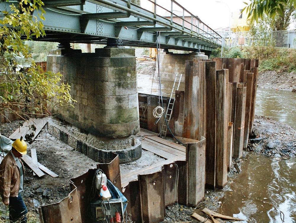 Sanierung Bahnbrücke Weiße Elster, AKZO NOBEL