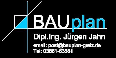 Ingenieurbüro Bauplan Jahn in Greiz Logo