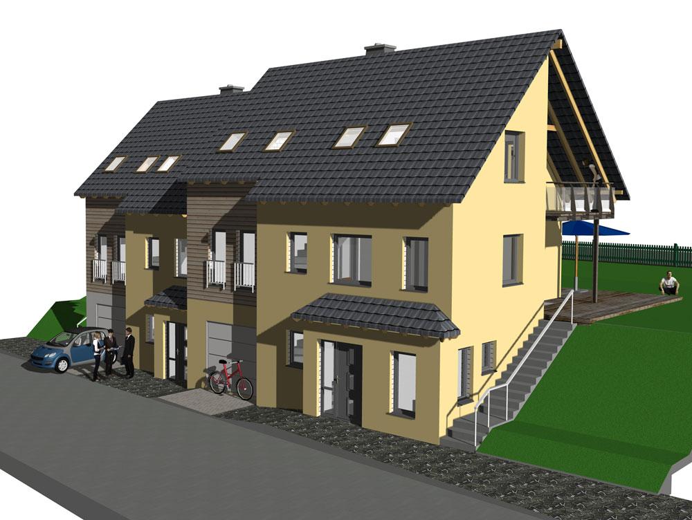 Neubau Eigenheim, Einfamilienhäuser