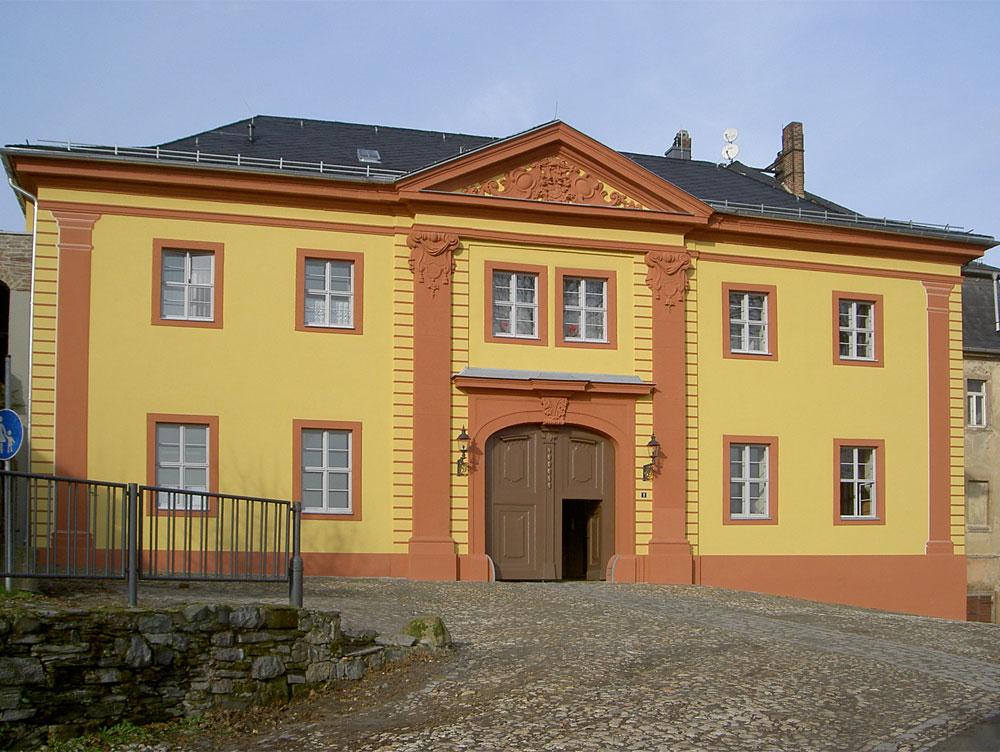 Oberes Schloß Greiz Torhaus