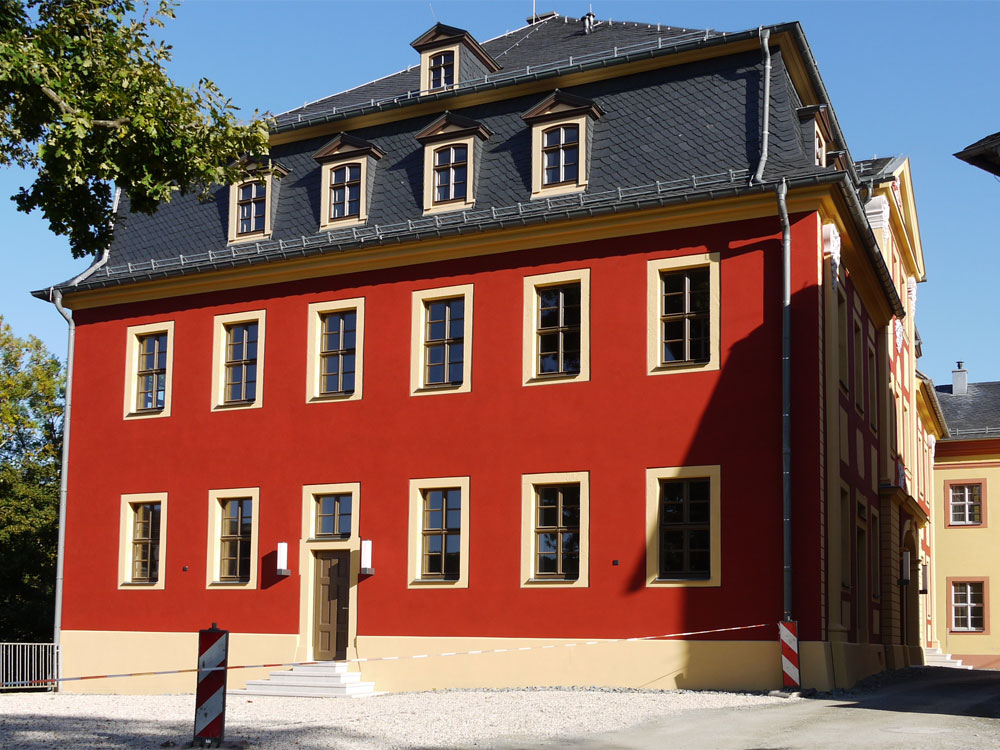 Oberes Schloss Haus 2 Greiz nach der Sanierung
