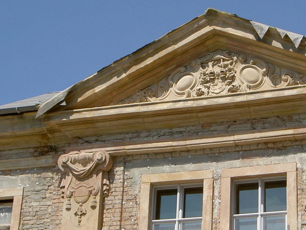 Sanierung Torhaus Oberes Schloss in Greiz