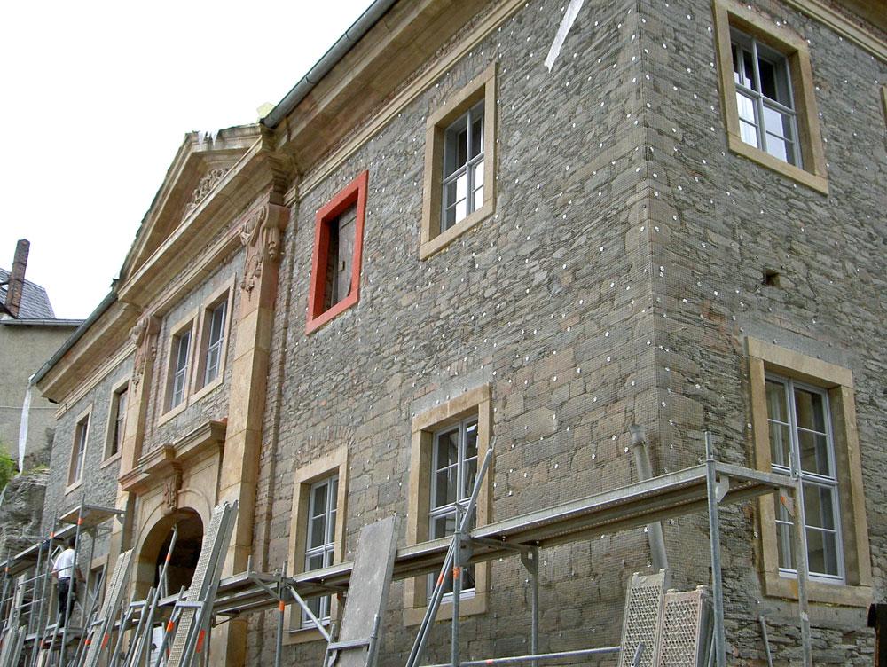 Sanierung Torhaus Oberes Schloss