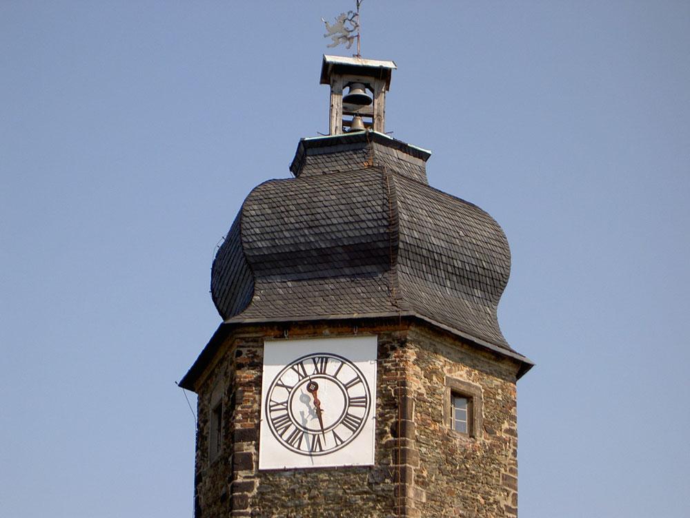 Sanierung Turm am oberen Greizer Schloss