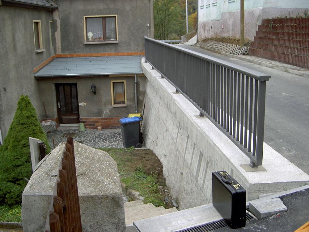 Stützmauer Raasdorf