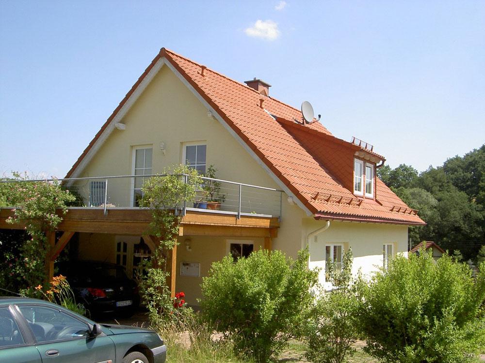 Ansicht Neubau Eigenheim